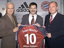 Adidas FC Bayern München, Franz Beckenbauer, Herbert Hainer, Uli Hoeneß