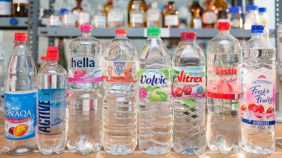 aromatisiertes Wasser im Test