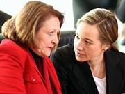 Sabine Leutheusser-Schnarrenberge, Kristina Schröder; Getty