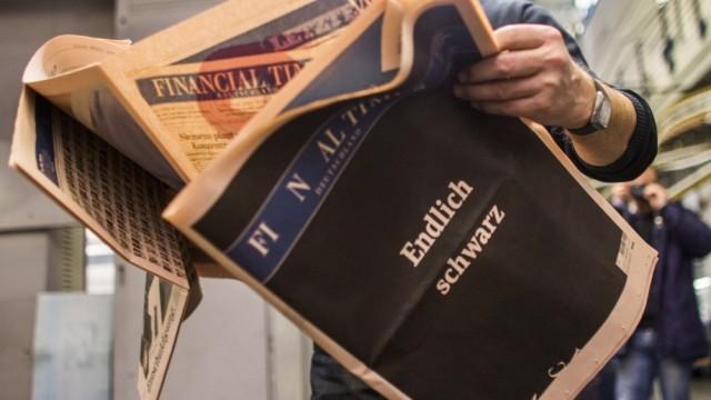 Financial Times Deutschland in Hamburg mit dem Henri-Nannen-Preis für Journalismus ausgezeichnet