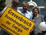 Horst Schlämmer Imitatoren vor dem Rathaus in Grevenbroich; ree