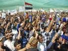 Sunniten demonstrieren im Irak