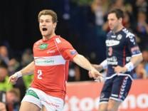 Michael Kraus vom HSV Hamburg jubelt