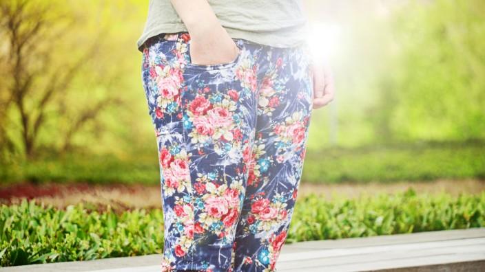 Fashionspießer Floraldruck