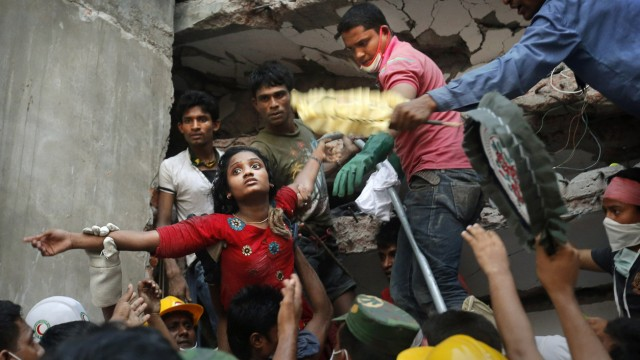 Bangladesch Fabrik Kleidung Mode