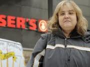 Emmely Barbara E. Kündigung Supermarkt Kassiererin Pfandbons Bundesarbeitsgericht, ddp