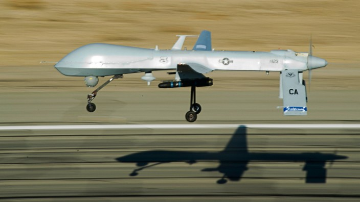 Drohne vom Typ MQ-1 Predator im Flug