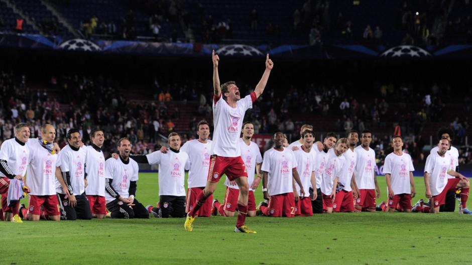 FC Bayern und Borussia Dortmund im Champions-League-Finale
