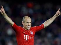 Arjen Robben Bayern Barcelona Champions League, Fußball