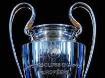 UEFA Champions League trophy handover