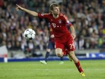 Thomas Müller, FC Bayern, FC Bayern München, Fußball Champions League