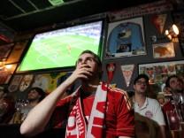 Fußball Fans in München
