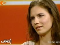 Amanda Knox, Markus Lanz, ZDF