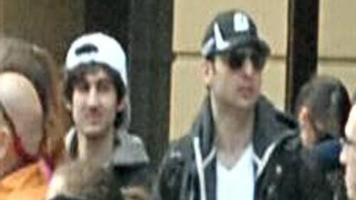 Mutmaßliche Terroristen des Boston-Marathons