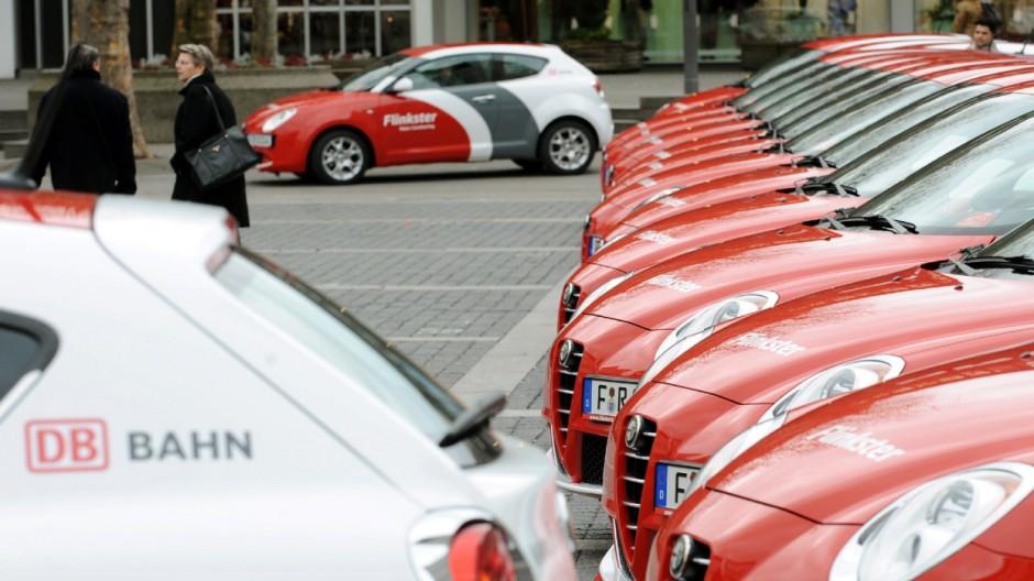 Deutsche Bahn, Carsharing, Flinkster, Teilauto, Bahn