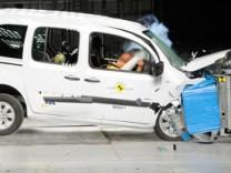 Mercedes Citan, ADAC, Crashtest, Daimler, Zetsche, Renault Kangoo