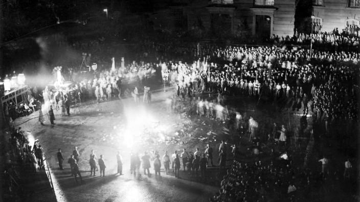 Öffentliche Bücherverbrennung in Berlin, 1933