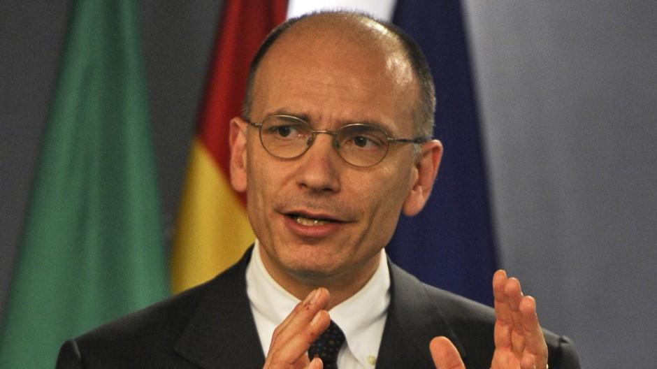 Newsblog Ankündigung von Premier Letta