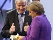 CSU-Parteitag Angela Merkel Horst Seehofer Reuters