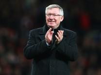 Alex Ferguson, Manchester United, Fußball, Großbritannien, Trainer
