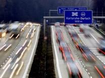 Tempolimit auf der Autobahn