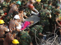 Überlebende in Bangladesch