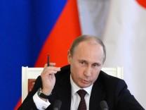 Wladimir Putin, Russland, Syrien