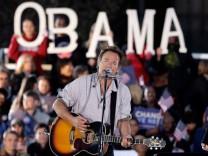 Der 'Boss' rockt fuer US-Praesident Obama