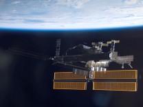 Die ISS verliert Ammoniak aus einem der Kühlsysteme des Energiesystems
