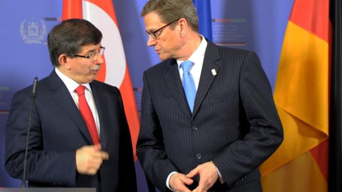 Westerwelle trifft türkischen Amtskollegen