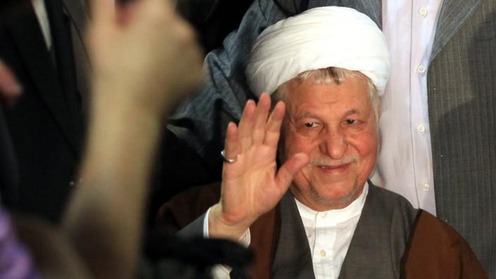 Iranischer Ex-Präsident Rafsandschani