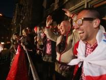 Meisterfeier FC Bayern - Rathaus