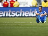 Sejad Salihovic (Hoffenheim) nach der Niederlage gegen den Hamburger SV