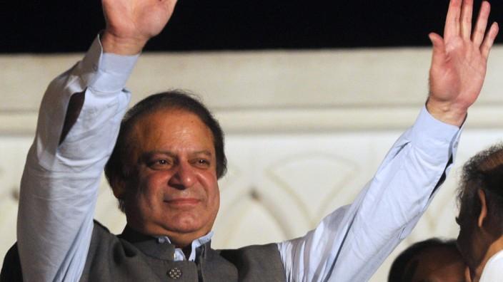 Nawaz Sharif, Pakistan, Wahl