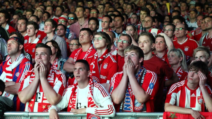 Public Viewing FC Bayern Muenchen v Chelsea FC - UEFA Champions League Final
