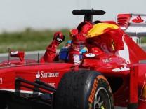 Formel-1-Fahrer Fernando Alonso beim Großen Preis von Spanien