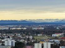 Panorama vom Hochhaus