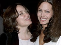 File photo of Angelina Jolie and her mother at a film premiere in Hollywood