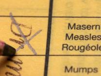 Masernimpfung für Erwachsene empfohlen
