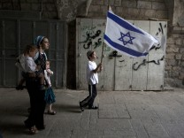 Jerusalem Day flag march