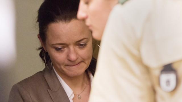 Beate Zschäpe beim NSU-Prozess in München