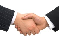 Handshake, Businessmen