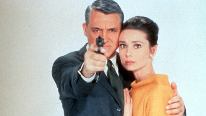 "Audrey Hepburn und Cary Grant in ""Charade"", 1963"