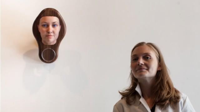 Heather Dewey-Hagborg Selbstporträt Stranger Visions DNA