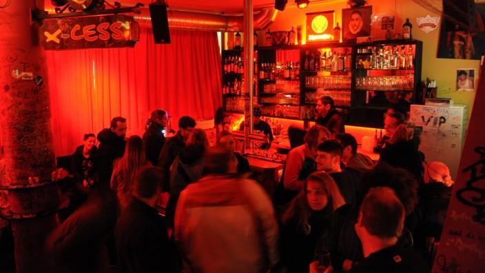 """Club """"X-Cess"""" in München, 2012."""