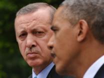 Türkischer Ministerpräsident Erdogan zu Gast bei US-Präsident Obama