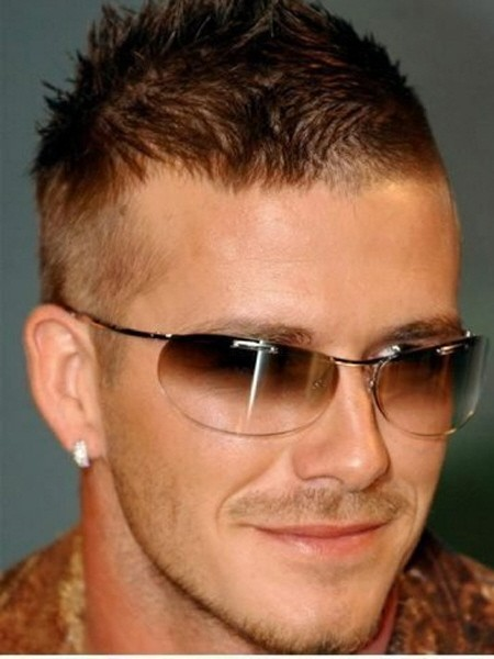 David Beckhams Frisuren Ein Jahr Spater Ist Bereits David