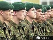 Rekruten der Bundeswehr, Archivbild dpa