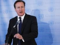 Großbritanniens Premierminister David Cameron zu Steueroasen