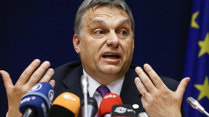 """westerwelle verurteilt Orbans """"Entgleisung"""""""